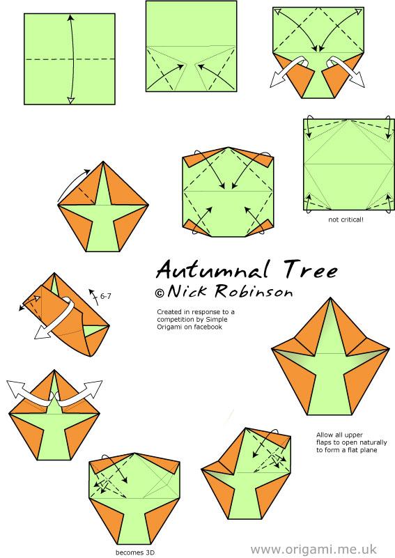 autumnal tree diagrams