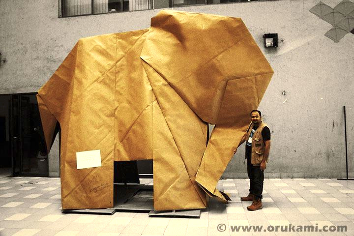 elephant by nick robinson, folded by himanshu agrawal