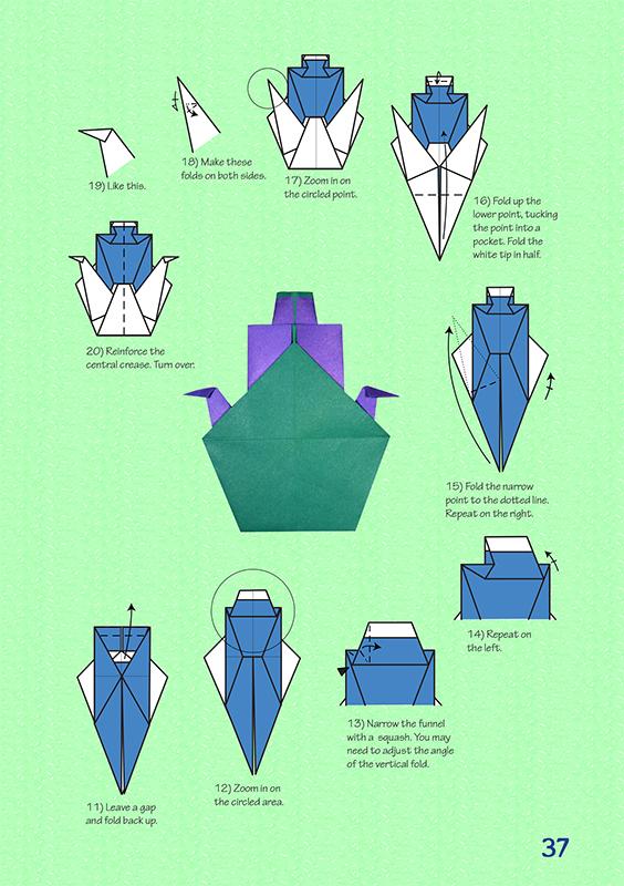 origami at sea
